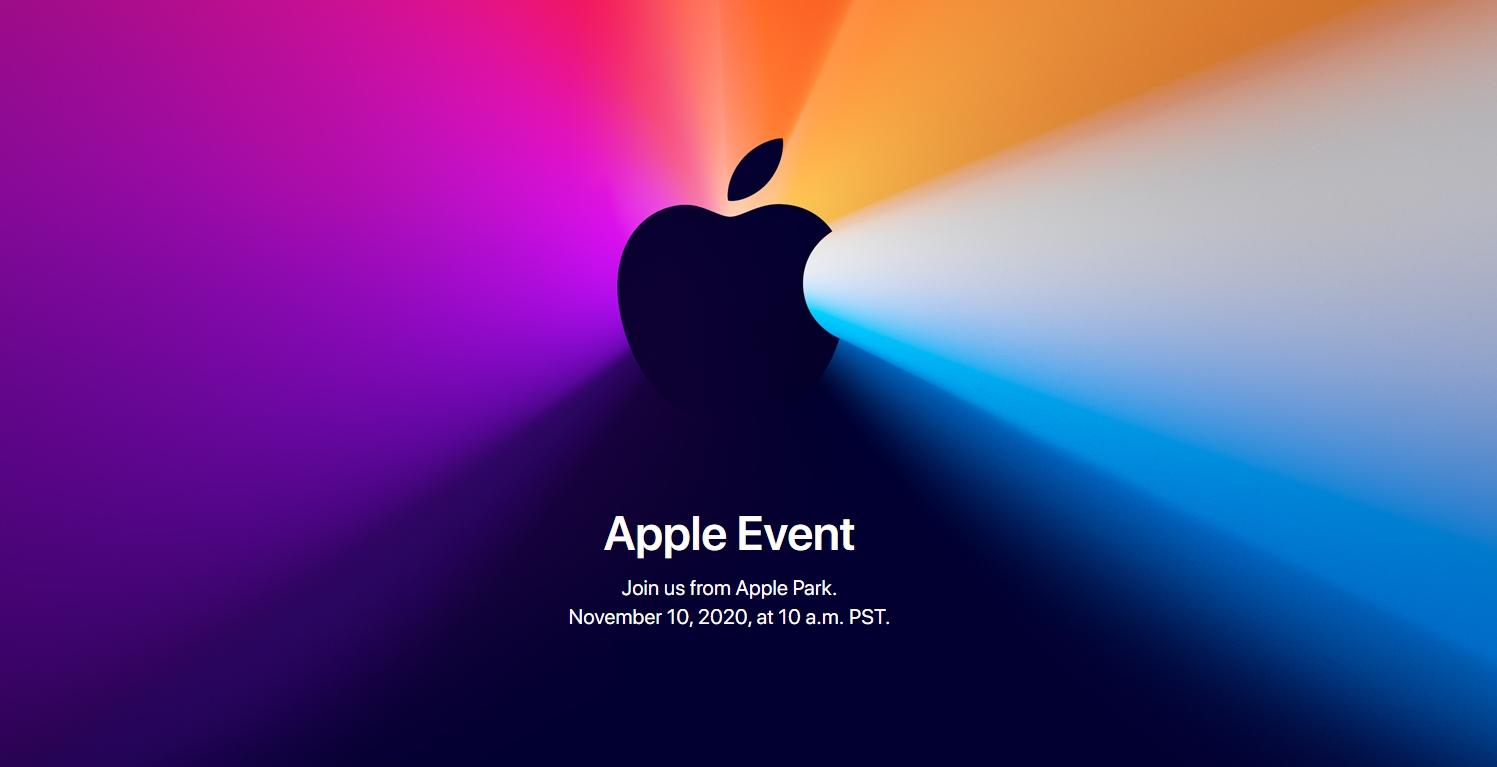 Apple zve na další keynote, už příští úterý se dočkáme pravděpodobně Maců s ARM procesory