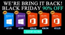 Black Friday pokračuje: Windows 10 Pro už za 7.95 EUR! [sponzorovaný článek]