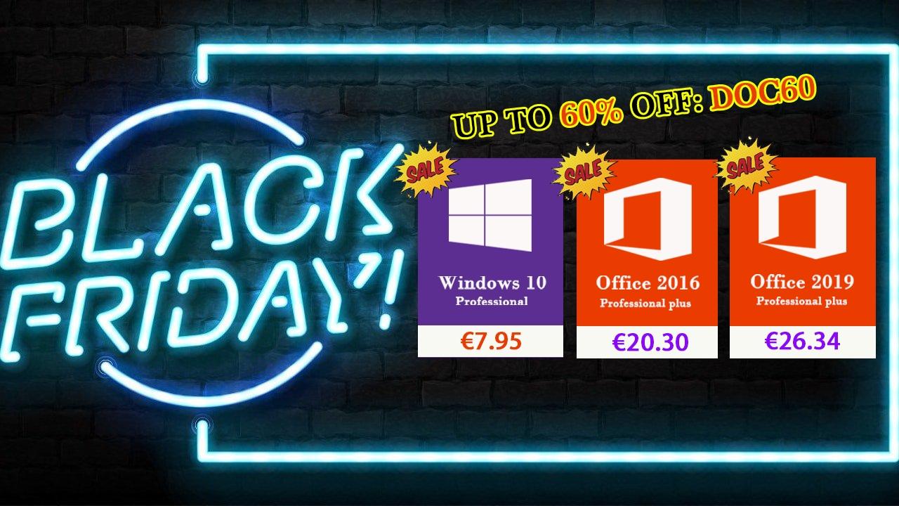 Black Friday: přechod na Windows 10 a Office 2019 levně a rychle [sponzorovaný článek]