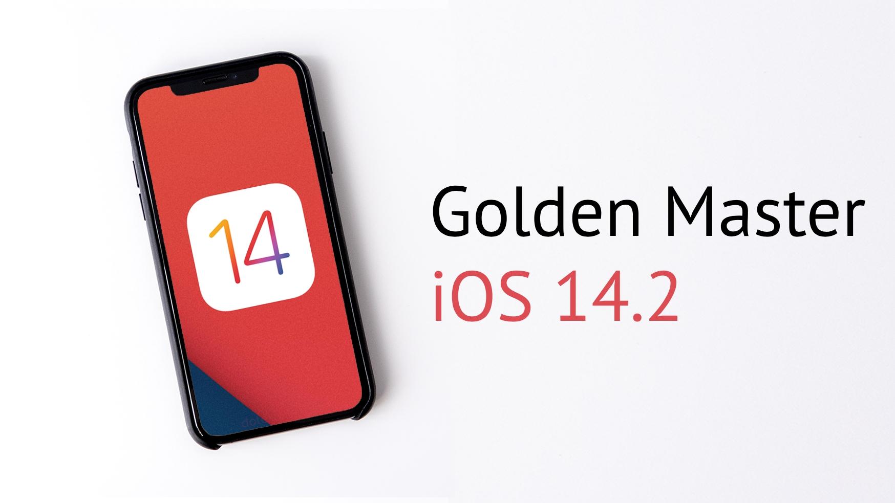 iOS 14.2 přichází v GM verzi