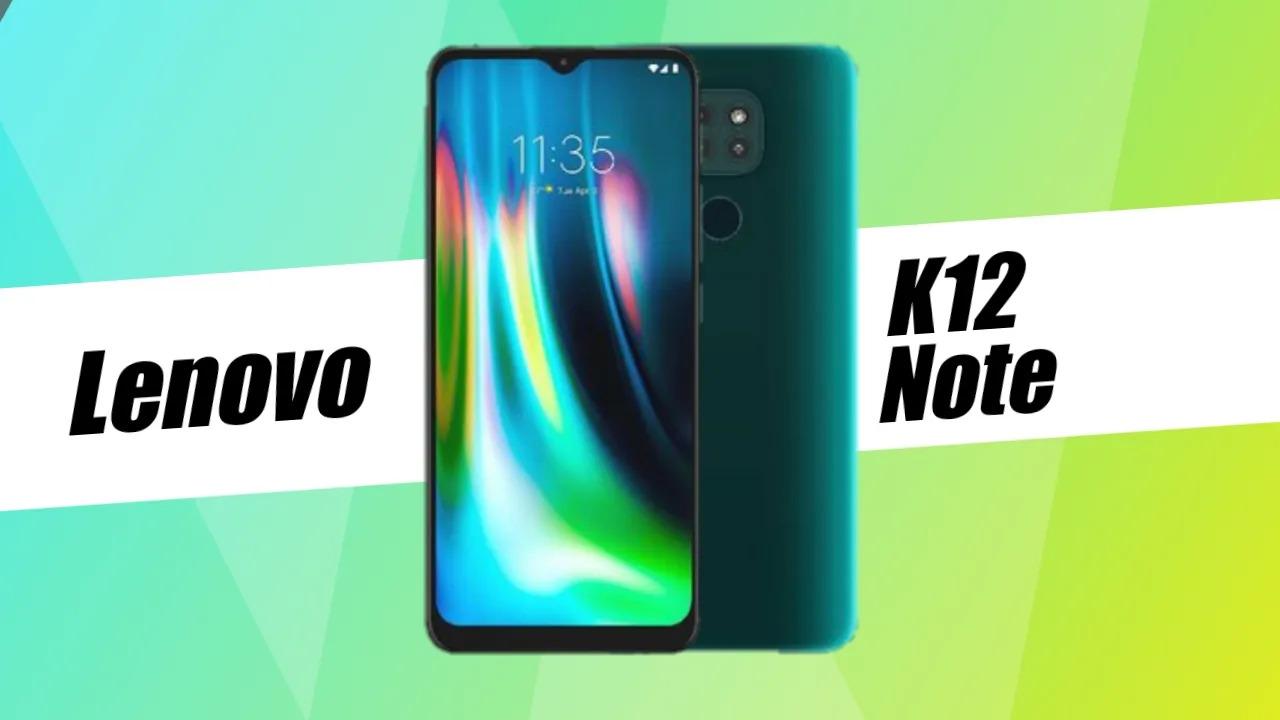 Lenovo K12 Note oficiálně: Snapdragon 662 a 5000 mAh