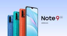 Novinka Redmi Note 9 4G tentokrát s 6000mAh baterií