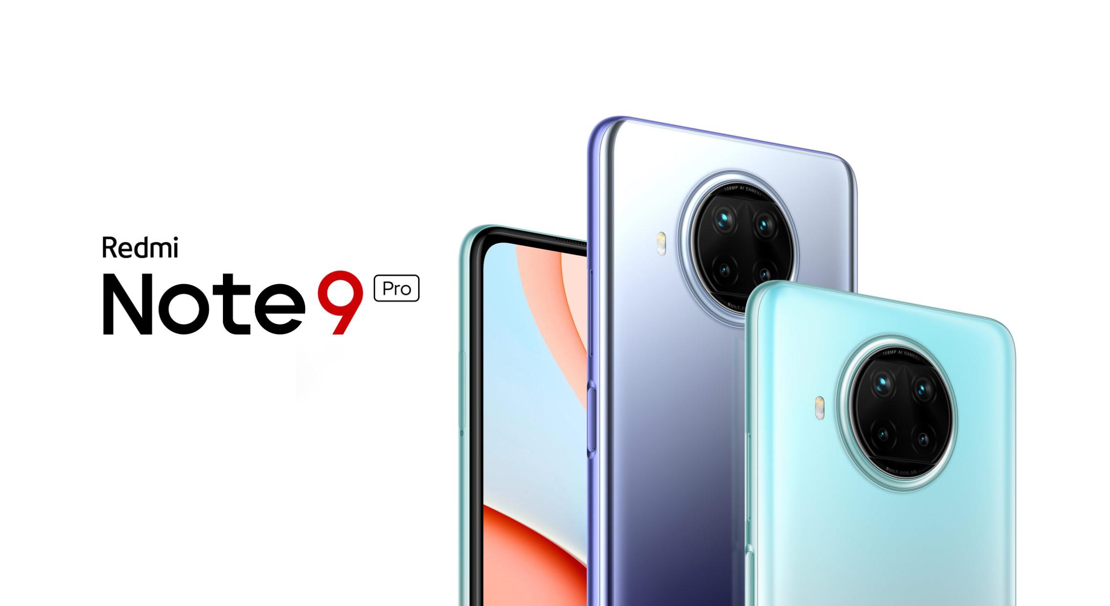 Redmi představilo Note 9 5G a Note 9 5G Pro