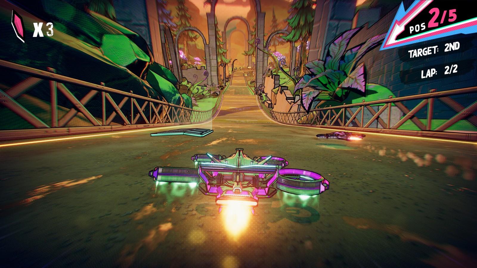 Apple Arcade má novou závodní hru Warp Drive