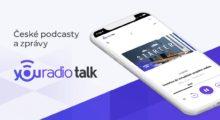 Podcastová aplikace Youradio Talk získává novou verzi
