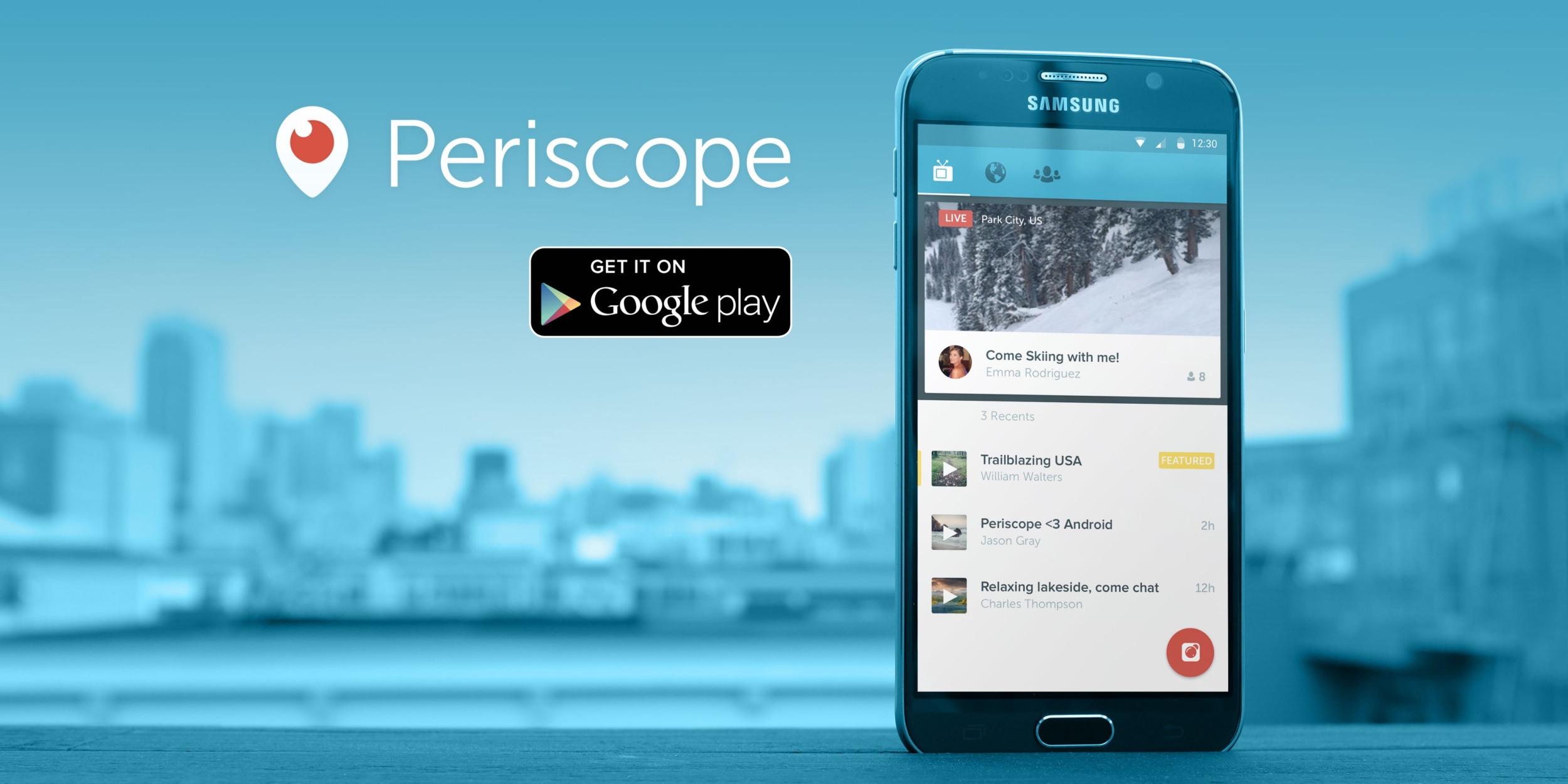 Aplikace Periscope pro live stream bude ukončena v březnu 2021