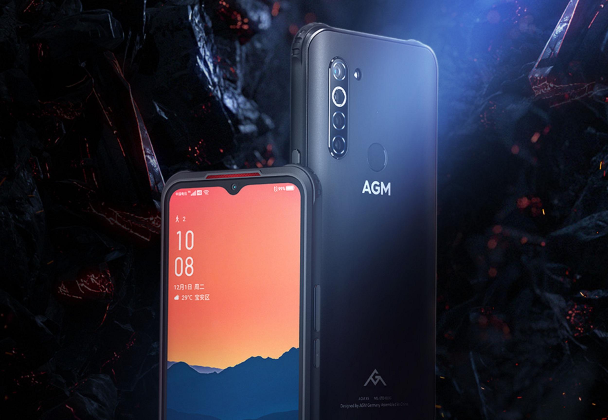AGM X5 – odolná novinka s podporou 5G