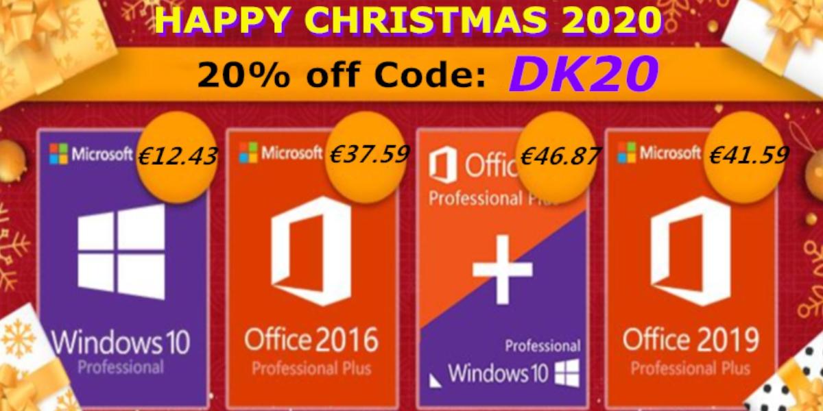 Povánoční speciální nabídka: je libo Windows 10 nebo Office balíček za sníženou cenu? [sponzorovaný článek]