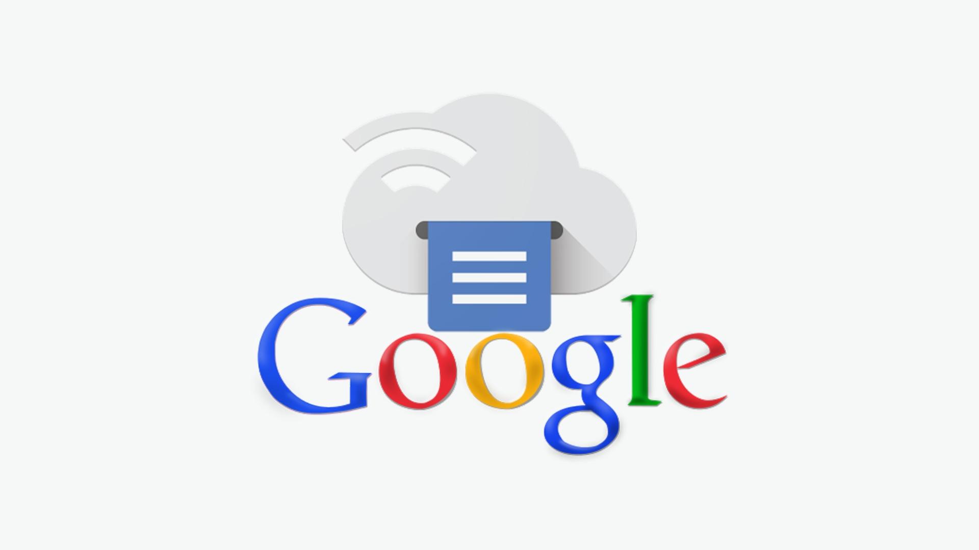 Google ukončuje službu Cloud Print, od 1. ledna nebude fungovat [aktualizováno]