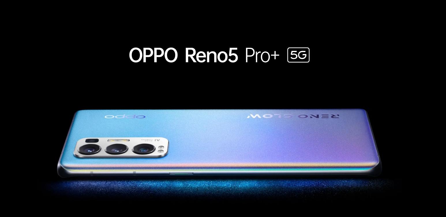 Reno5 Pro+ 5G oficiálně, rychlé nabíjení a nový senzor pro focení