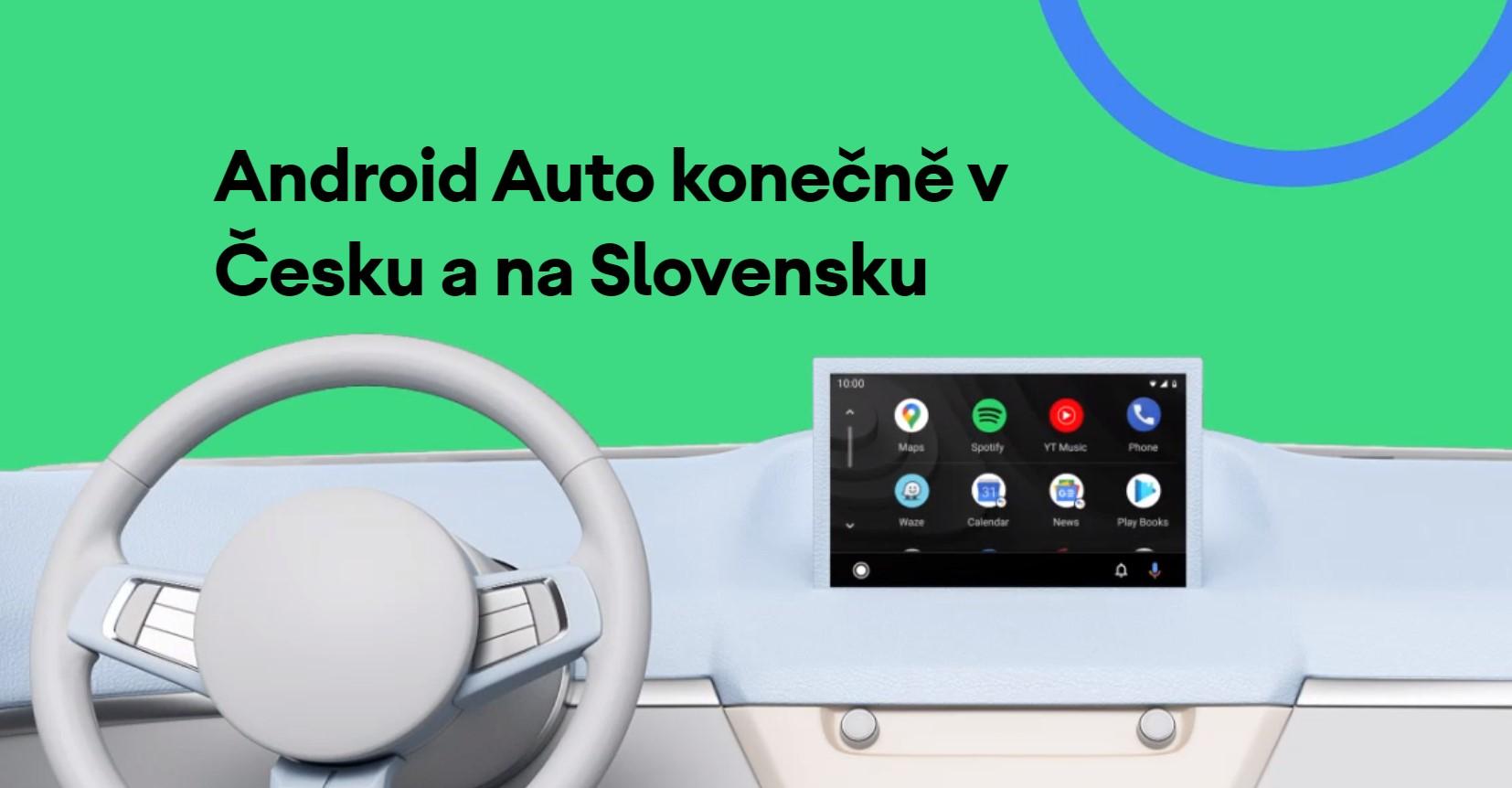 Konečně, Android Auto míří do Česka a na Slovensko