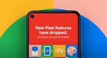 Google vydává další sadu novinek pro Pixely