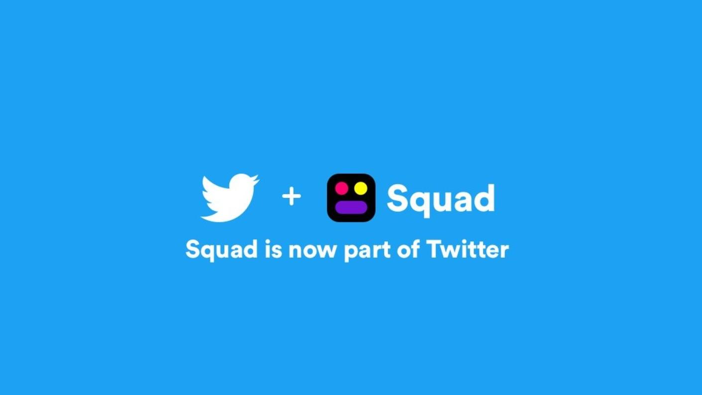 Twitter kupuje Squad a zřejmě ukončí Periscope