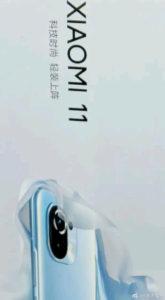 Xiaomi MI 11 leaked poster 690x1252x