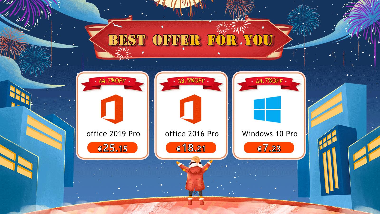 Další povánoční nabídka na Windows 10 a balíček Office [sponzorovaný článek]