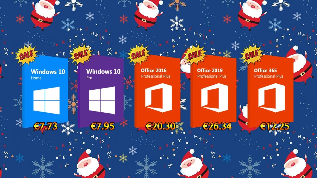 Veselé Vánoce! Získejte pod stromeček Windows 10 a Office balíček za skvělou cenu! [sponzorovaný článek]