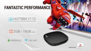 geekbuying TANIX H1 Android 9 0 Hi3798M 2GB 16GB TV BOX 853316 1000x563x