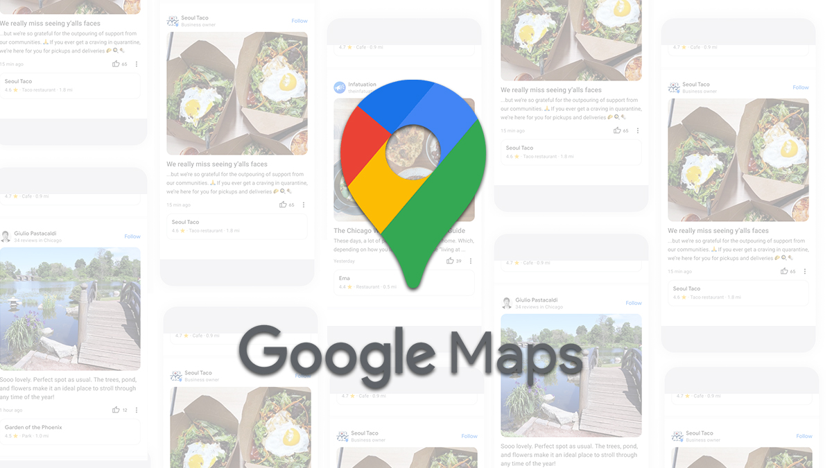 Z Google Map se stává sociální síť, přibývají nové funkce