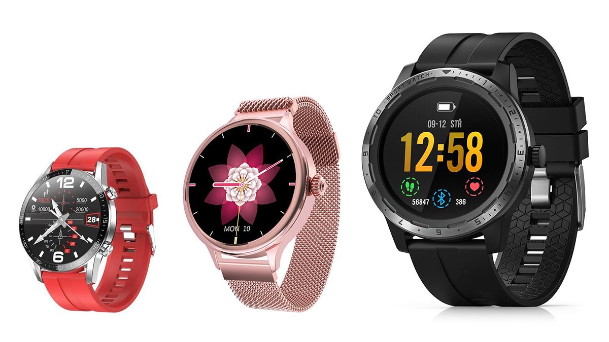 Chytré hodinky nově v obchodech – levné, elegantní, i pro dámy