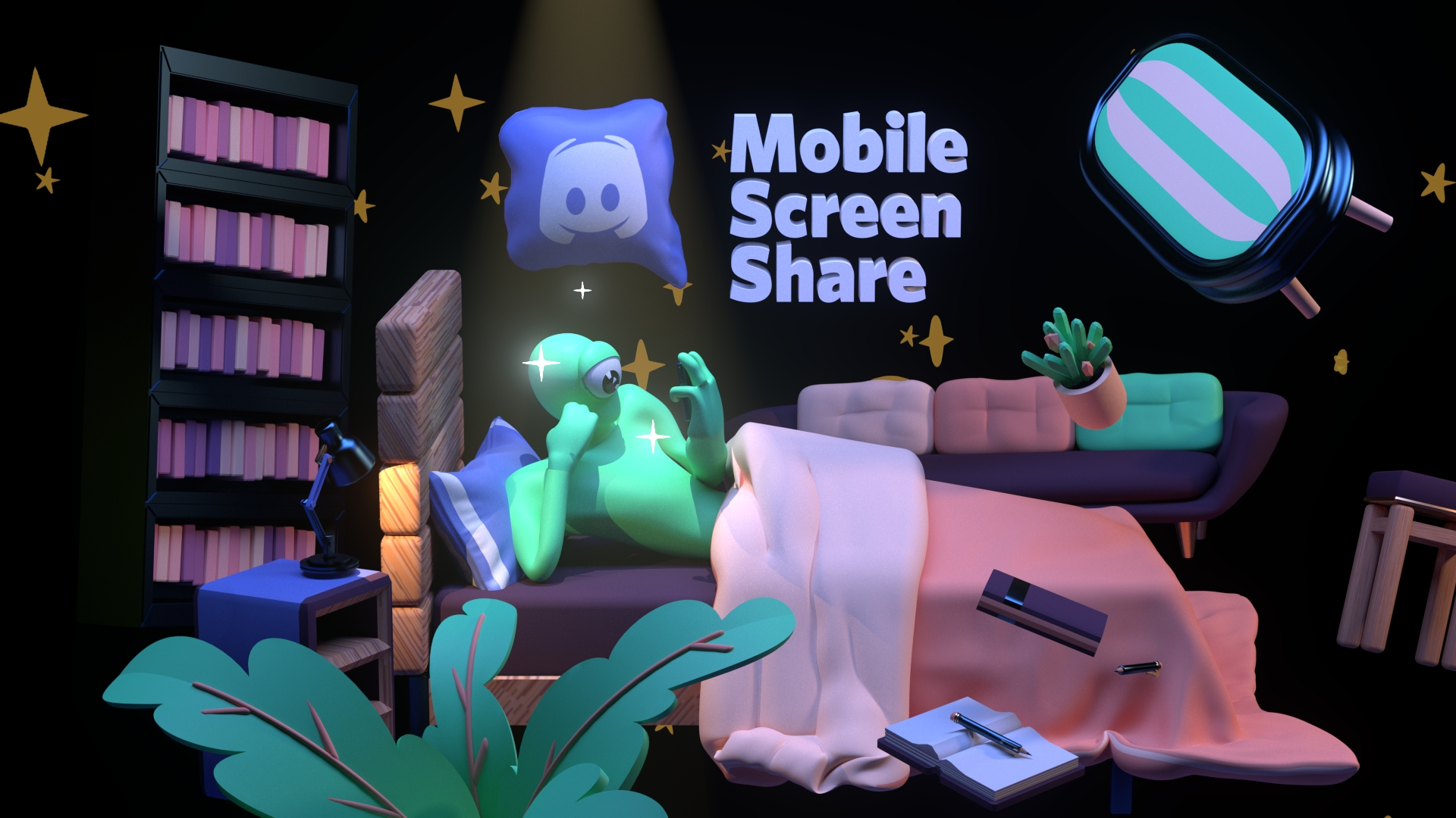 Discord získává sdílení obrazovky na smartphonech