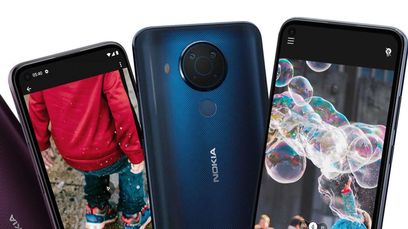 Nokia 5.4 oficiálně, slušná kapacita baterie a cena 189 eur