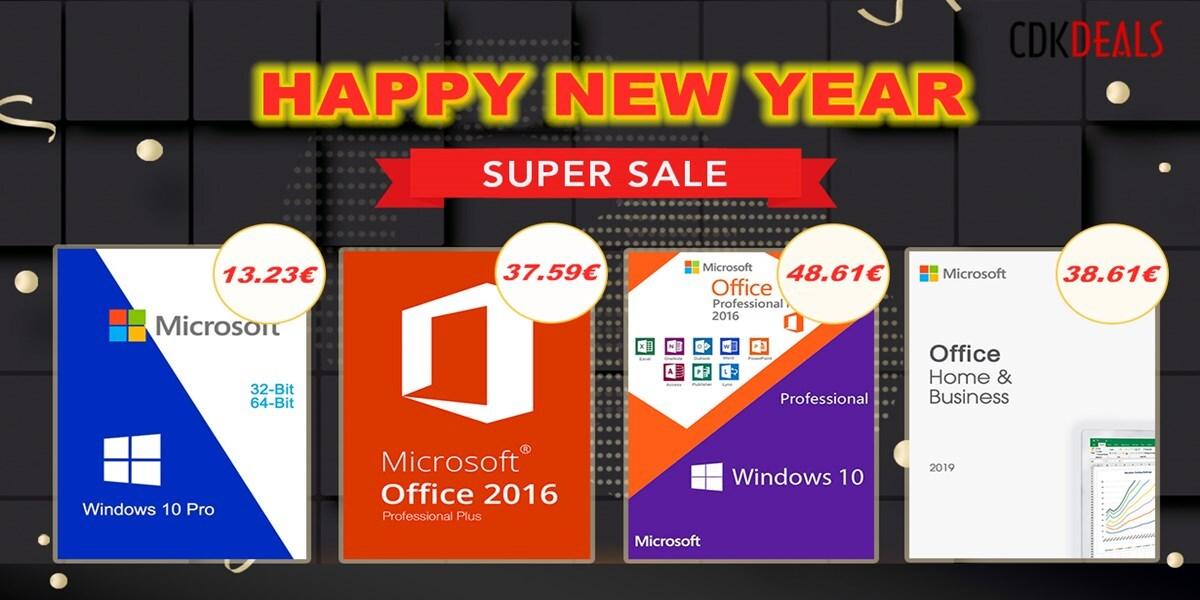 Novoroční slevy na Windows 10 a MS Office [sponzorovaný článek]