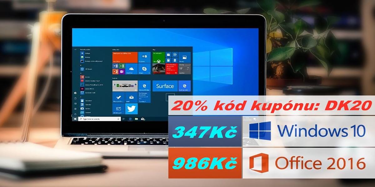 u2key nabízí Windows 10 jen za 7.23 EUR [sponzorovaný článek]