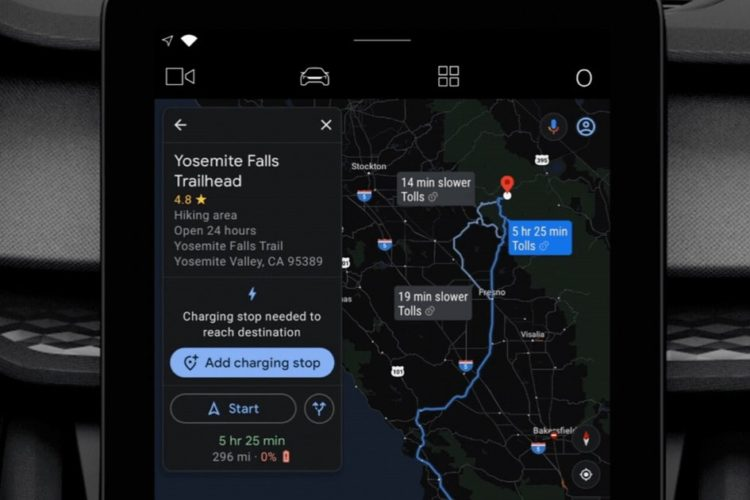 155520 apps news google maps to make it easier to plan your ev charging image1 t76kcp9hjc 945x630x