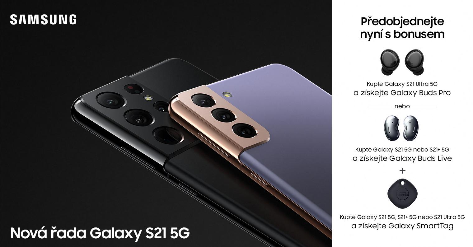 Nový Galaxy S21 a další novinky si můžete předobjednat na Smarty.cz. Nyní sdárky a extra slevou 1300 Kč [sponzorovaný článek]