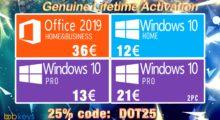 Originální licence Windows 10 Pro jen za 348 Kč nebo Office už od 406 Kč [sponzorovaný článek]