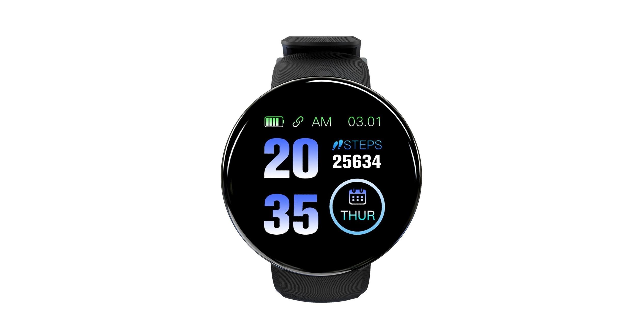 Kulaté chytré hodinky jen za 207 Kč? Právě takové můžete teď koupit [sponzorovaný článek]