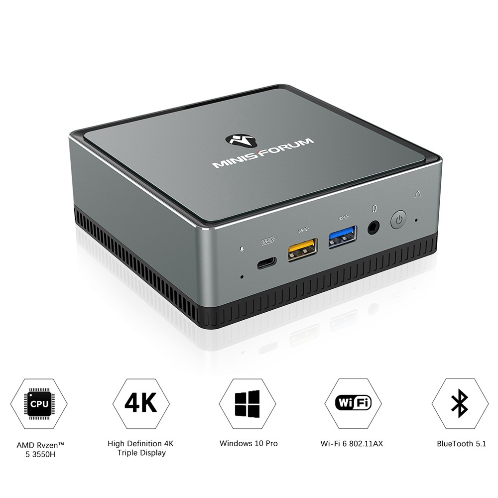 MINISFORUM DMAF5 AMD Ryzen5 3550H 16GB 512GB MINI PC 426852 9 1000x1000x