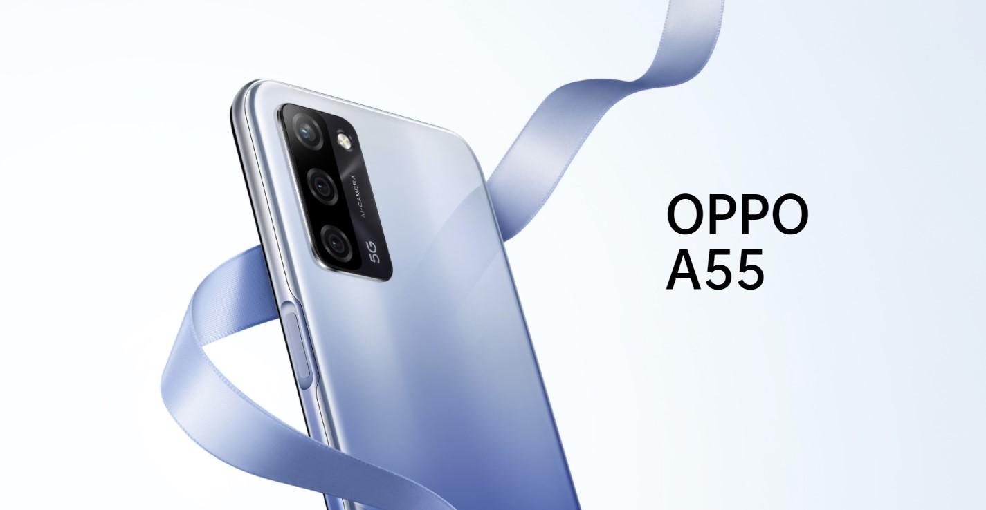 Oppo A55 oficiálně – cenově dostupnější 5G model