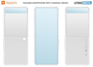 Xiaomi Clamshell Foldable Smartphone Design Patent 01 1440x1040x