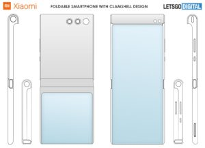 Xiaomi Clamshell Foldable Smartphone Design Patent 02 1440x1040x