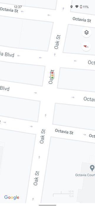 google maps street level detail old san francisco 1080x2340x