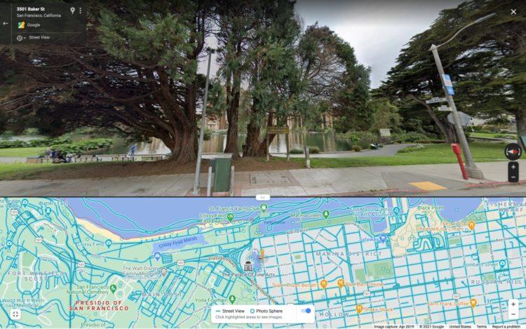 google maps street view split web 1000x625x