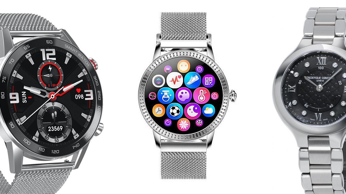 Chytré hodinky nově v obchodech – levnější, dámské a velmi luxusní s diamanty
