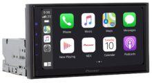 Pioneer představil autorádio s CarPlay a Android Auto