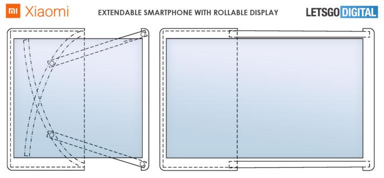 xiaomi uittrekbare smartphone 1440x670x