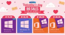 Na Valentýna je tu speciální dárek! Kupte dvě licence a ušetřete na nákupu Windows 10, již od 5 € [sponzorovaný článek]