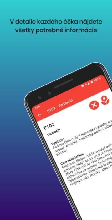 éčka aplikace