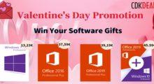 Valentýnská akce na Windows 10 a další software [sponzorovaný článek]