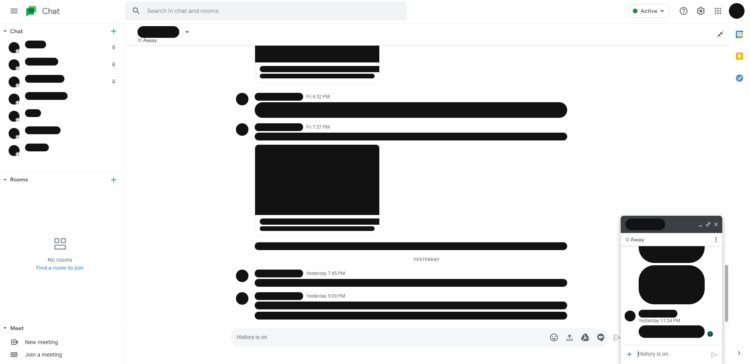 Google Chat web redesign 2 1 1920x933x