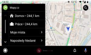 Mapycz Android Auto 10 800x480x