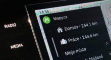 Exkluzivně: Vyzkoušeli jsme Mapy.cz v Android Auto
