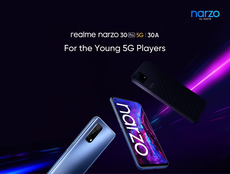 Realme oznámí Narzo 30A a Narzo 30 Pro už 24. února
