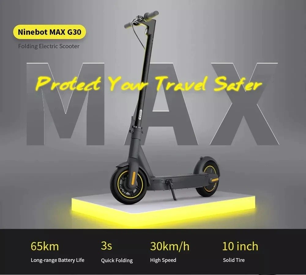 Ninebot MAX G30 Electric Scooter 1000x901x