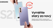 Vyměňte svůj starý telefon za nový Galaxy S21 [sponzorovaný článek]