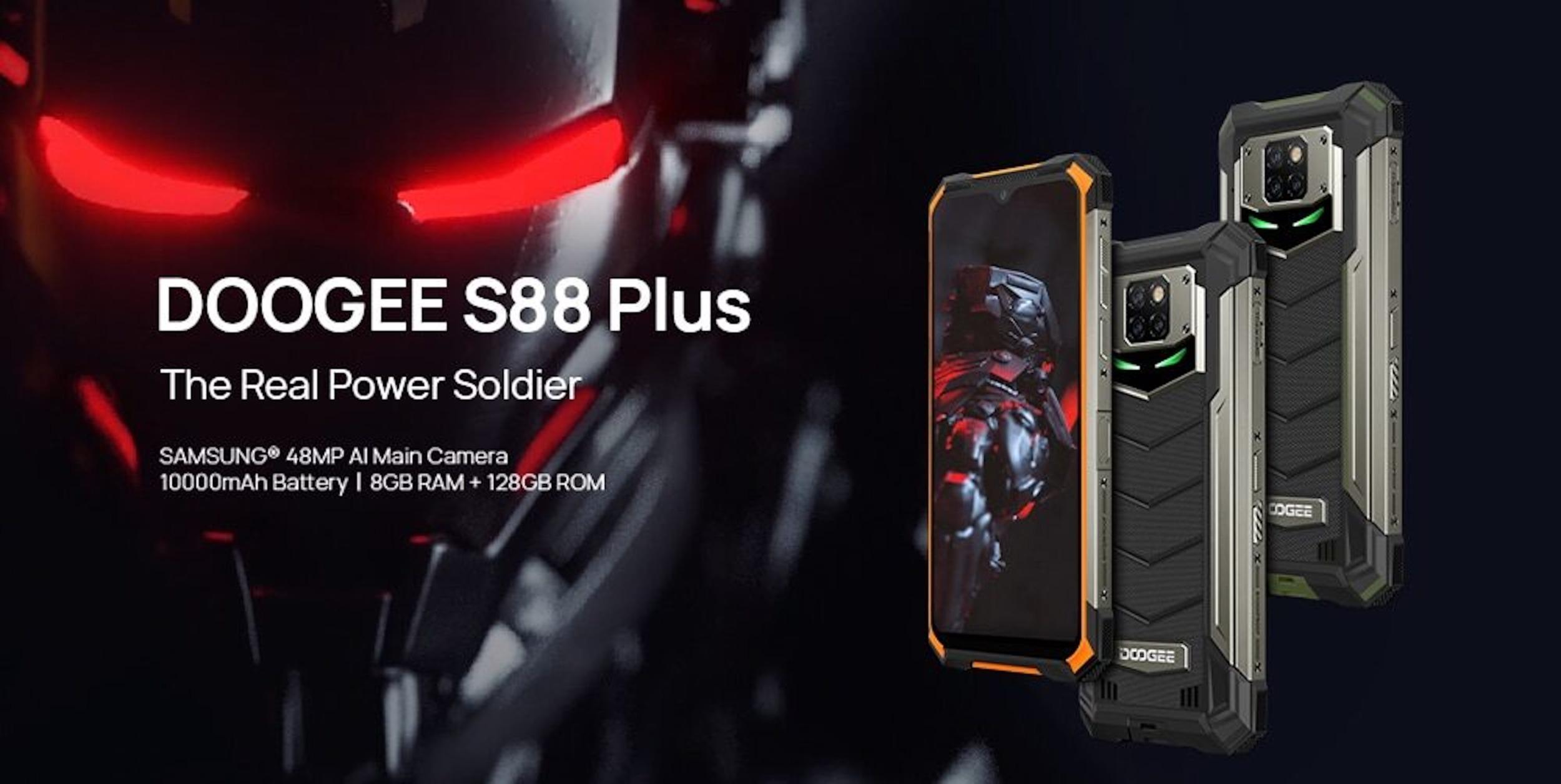 Doogee oficiálně oznámil odolný telefon S88 Plus